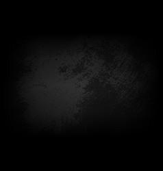 Dark textured grey wall closeup vector
