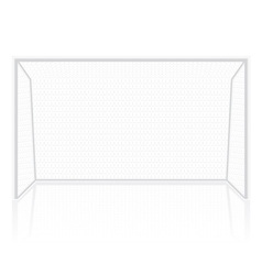 Football soccer gates goalie vector