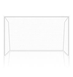 football soccer gates goalie vector image