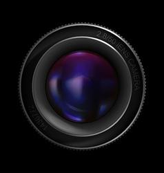 Lens Icon vector image