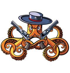 Octopus bandit vector