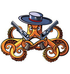 Octopus the bandit vector