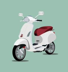 Scooter 3d vector