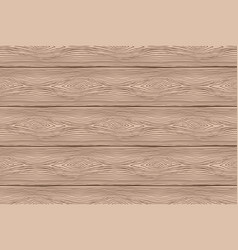 Seamless pattern of brown wooden boards vector
