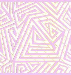 Spiral geometric pattern vector