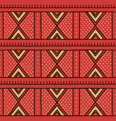 Tribal seamless pattern in african style vector