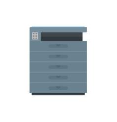 xerox icon flat style vector image