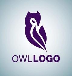 OWL LOGO 4 vector image