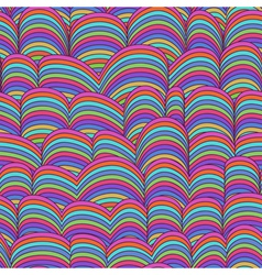 Abstract Hand-drawn Pattern Waves vector image vector image