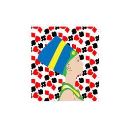 Card Queen vector image
