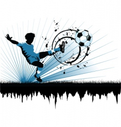 soccer Europe vector image