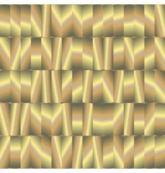 abstract seamless pattern with gold plates vector image