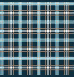 classic tartan merry christmas seamless patterns vector image