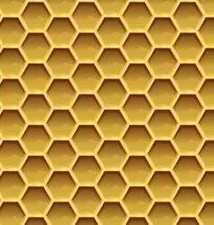 Create honeycomb background texture vector image