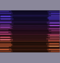 Frequency bar overlap in dark background vector