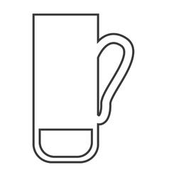 Golf bag clubs icon vector