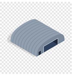 hangar isometric icon vector image