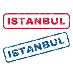 Istanbul Rubber Stamps vector
