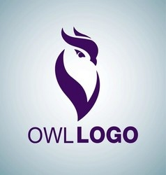 OWL LOGO 5 vector image