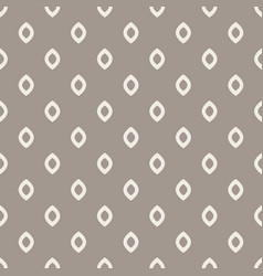 Rhombus dots grey seamless pattern vector