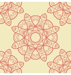 Seamless Doodle Print vector image