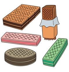 Set of wafer vector