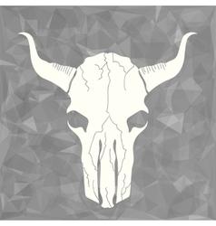 Skull Bull vector image