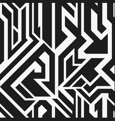 Technology monochrome geometric pattern vector