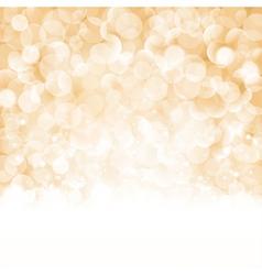 Bokeh Christmas background vector image vector image