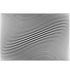 Abstract wavy lines textured background vector