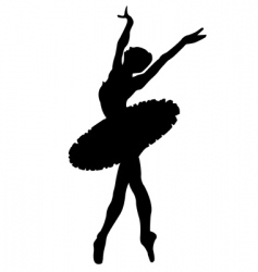 Ballet dancer vector