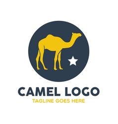 camel logo-19 vector image