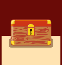 chest box icon vector image