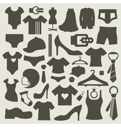 Clothes3 vector image