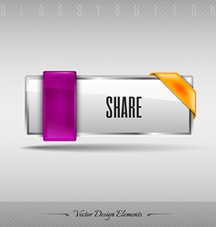 design element Business web button for website or vector image
