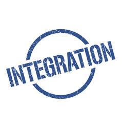 Integration stamp vector