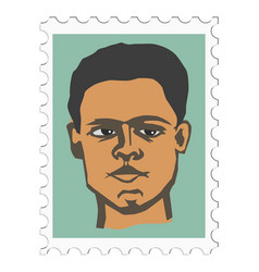 Muhammad ali famous professional boxer vector