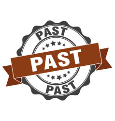 Past stamp sign seal vector