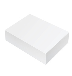 White Package Box For Software electronic device vector image