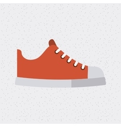 shoes young fashion isolated icon vector image vector image