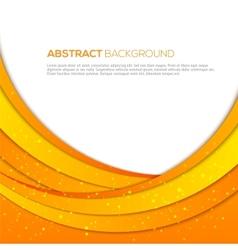 Absatract orange background vector image vector image