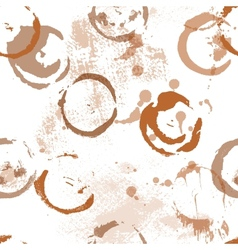 Seamless abstract background prints strokes and vector image vector image