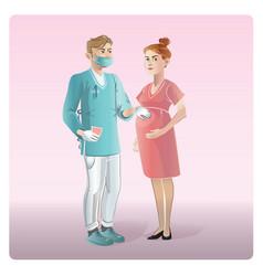 cartoon medicine design concept vector image vector image