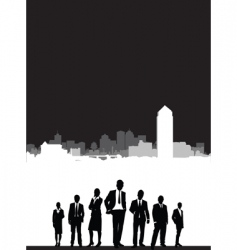 city brochure vector image vector image