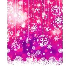 Purple Christmas background EPS 8 vector image vector image