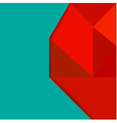 abstract background with colorful geometric vector image