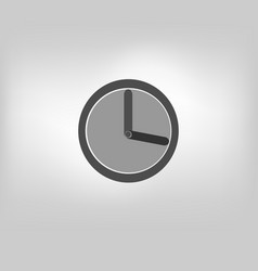 Clock timer icon vector