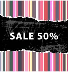 color sale vector image
