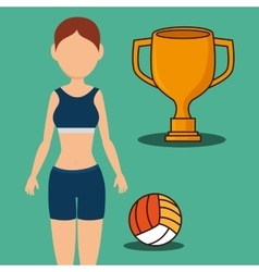 Gym and fitness lifestyle vector