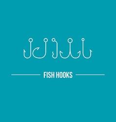 Hooks vector image